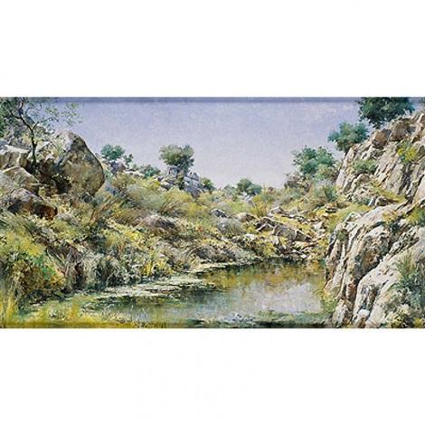 remanso en el arroyo de la degollada by ricardo arredondo