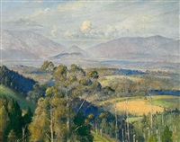 kallista landscape by tom roberts