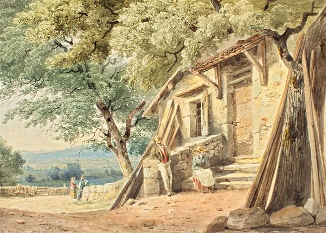 devant la maison by alexandre calame