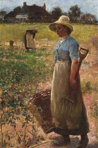 potato gatherers by flora macdonald reid