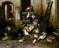 la basse-cour by philibert-leon couturier
