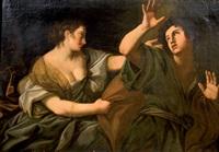 joseph et la femme de putiphar by lionello spada