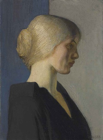 a dutch girl by sir george clausen