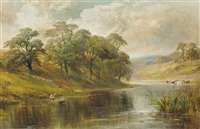 the trent near ingleby by george turner