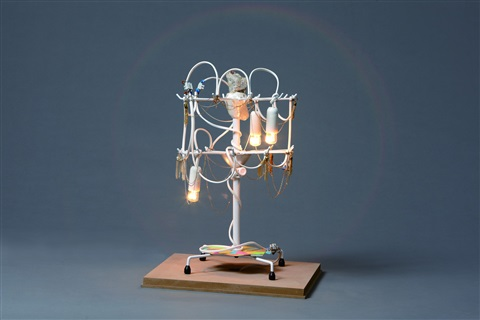 jewel wish table light by haegue yang