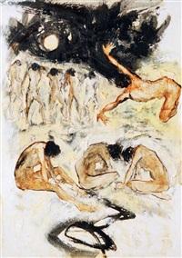 gundah (depressed) by putu sutawijaya