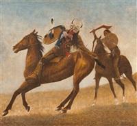 cavalier indien by antoine tzapoff