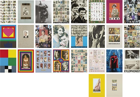 alphabet series set of 26 by peter blake