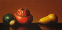 still life with squash by al jackson