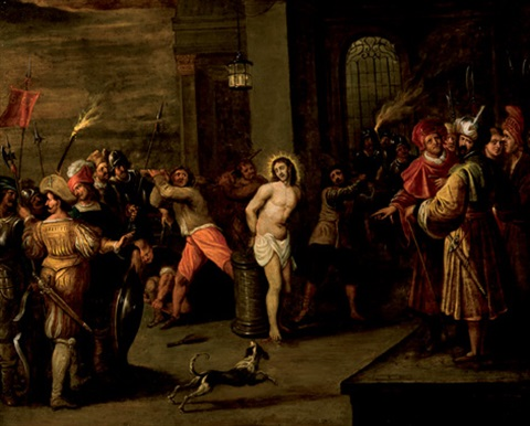 flagelación de cristo by frans francken the younger
