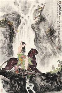 山鬼图 by xiao ping