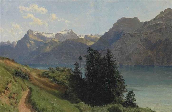 lac des quatre cantons et urirotstock by alexandre calame