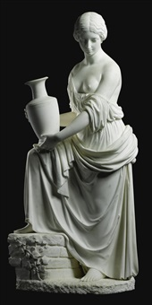 rebecca at the well by benjamin edward spence