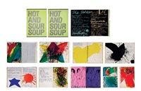 hot and sour soup; hot and sour soupl & green banana (3 books with original illustrations) by walasse ting
