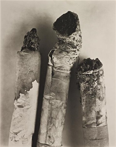 cigarette no 123 new york by irving penn