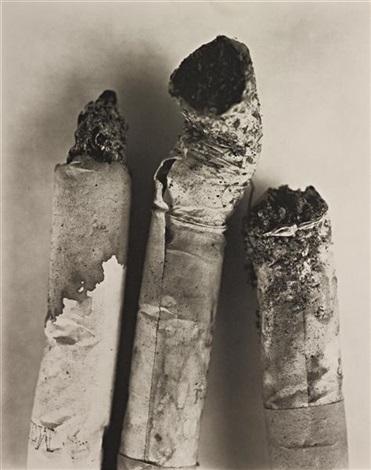 cigarette no. 123, new york by irving penn