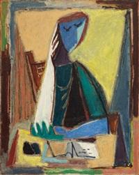 figure by aharon kahana
