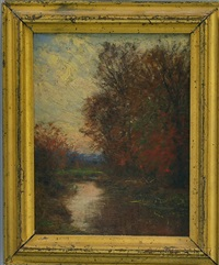 the mill pond by william merritt post