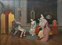 interieur italien by adriano cecchi