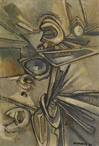 the eye in the mirror by alexander skunder boghossian