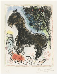 the little horse by marc chagall
