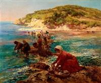 la pêche à pied by lucien laurent-gsell