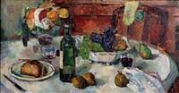table d'automne ou villeneuve by bessie ellen davidson