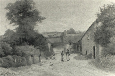 at lustleigh devon by george oyston