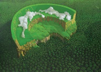 menikmati hijau (enjoying the green) by ardison