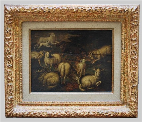 étude de moutons et béliers study by jan brueghel the elder