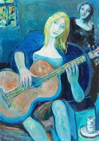 la guitarrista by leopoldo presas