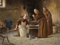 visit at the bakery by adolf humborg