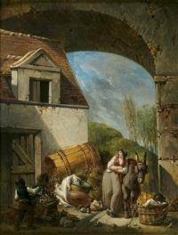 le départ pour le marché by marc antoine bilcoq