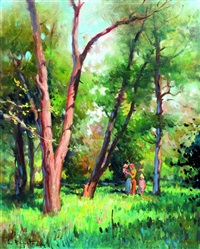 en el bosque by armando repetto