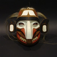 kwagiulth fool mask by tony hunt