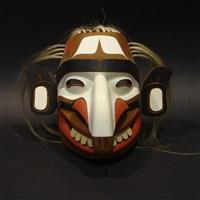 kwagiulth fool mask by tony hunt