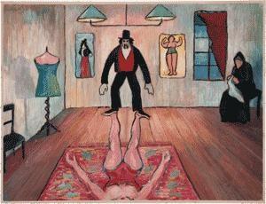 akrobaten by marianne werefkin