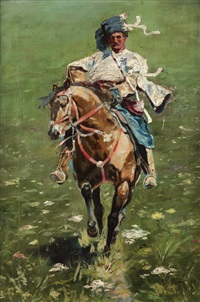 jezdec na koni by jaroslav friedrich julius vesin