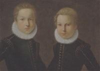 due giovani principi gonzaga by giulio cesare angeli