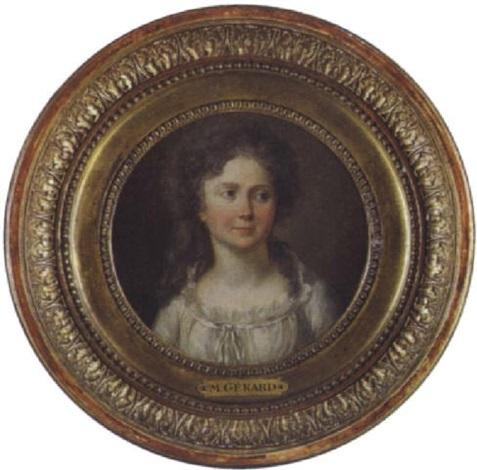 jeune femme by marguerite gérard