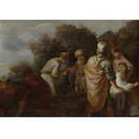 joseph sold into slavery by his brothers by pieter lastman