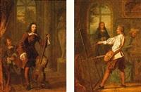 la musique (+ la peinture; pair) by charles auguste herbe