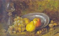 früchtestilleben mit römer by elly arnheim