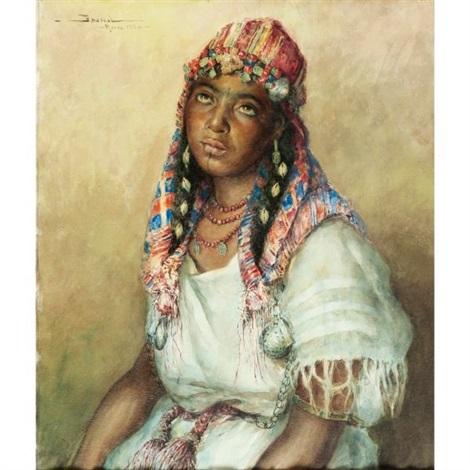 femme en blanc by carlos abascal