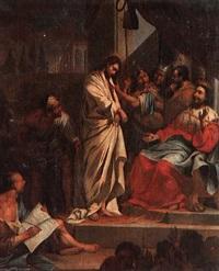 christ before pilate by jan van wyckersloot
