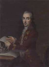 portrait of a spanish gentleman (señor sebastian martinez?) by joaquin x. inza