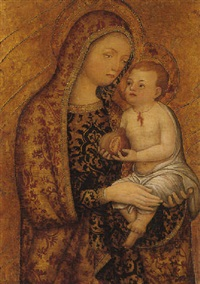 the madonna and child by giovanni badile