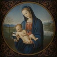 madonna con bambino by luigi sabatini