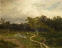 wiesenlandschaft by antoine chintreuil