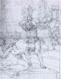 the beheading of saint john the baptist by giulio benso